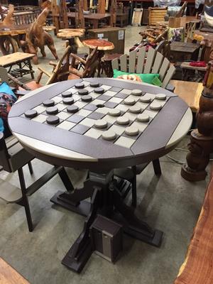Bar Height Checker Table