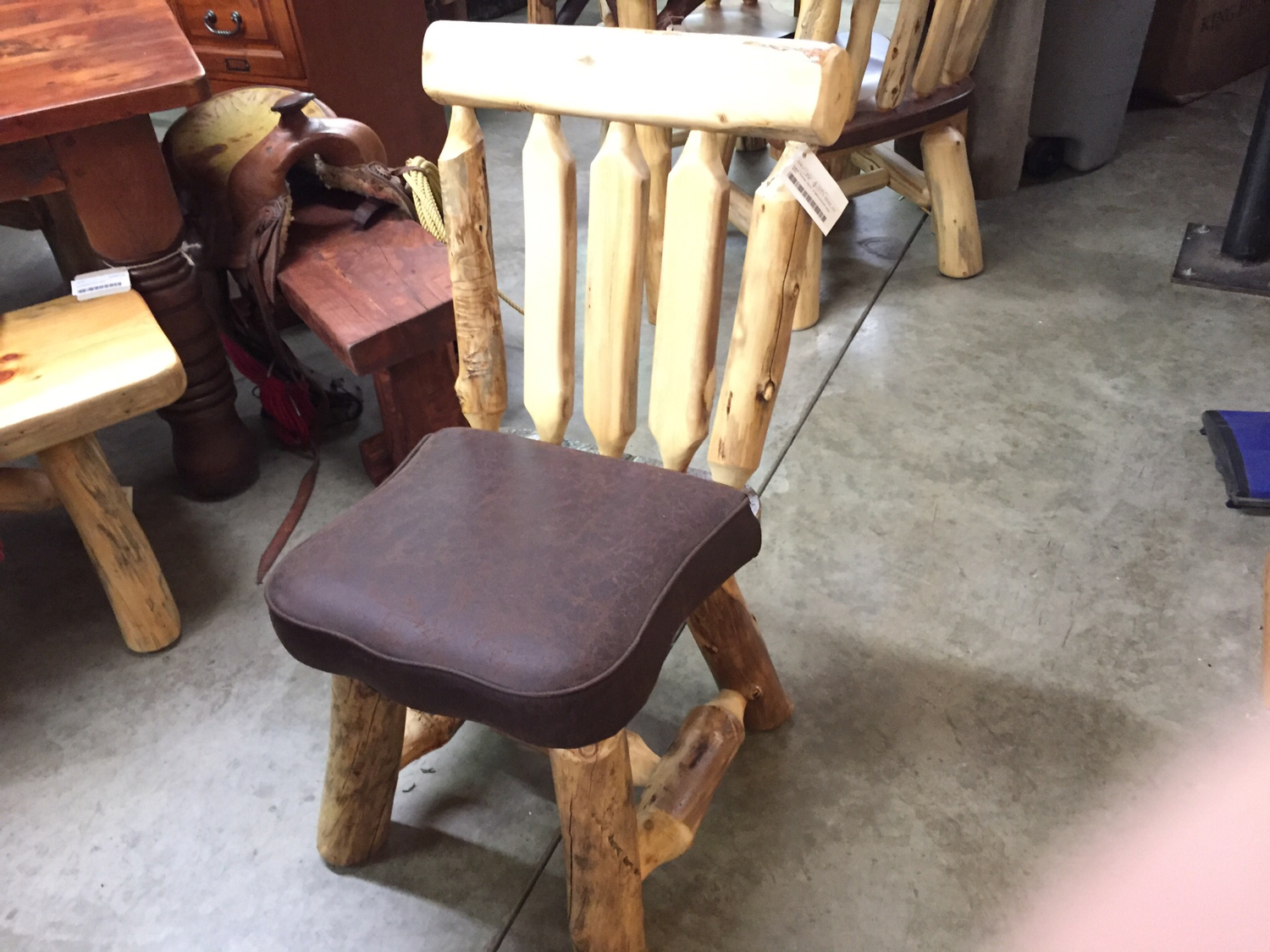 Aspen Dining Chair w/Upholstered Seat