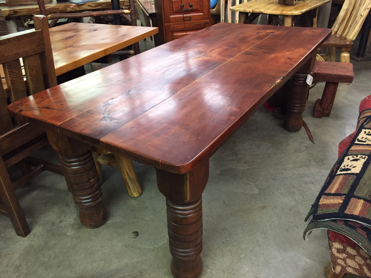 Old Mesquite Dining Table