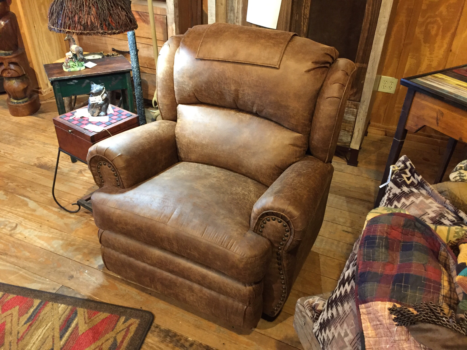 Wall Recliner w/Extended Foot Rest
