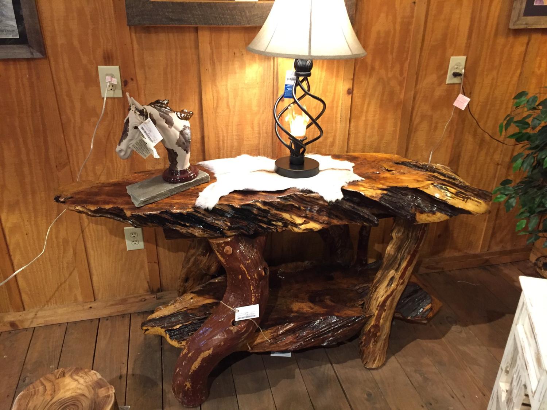 Bass Wood Sofa Table