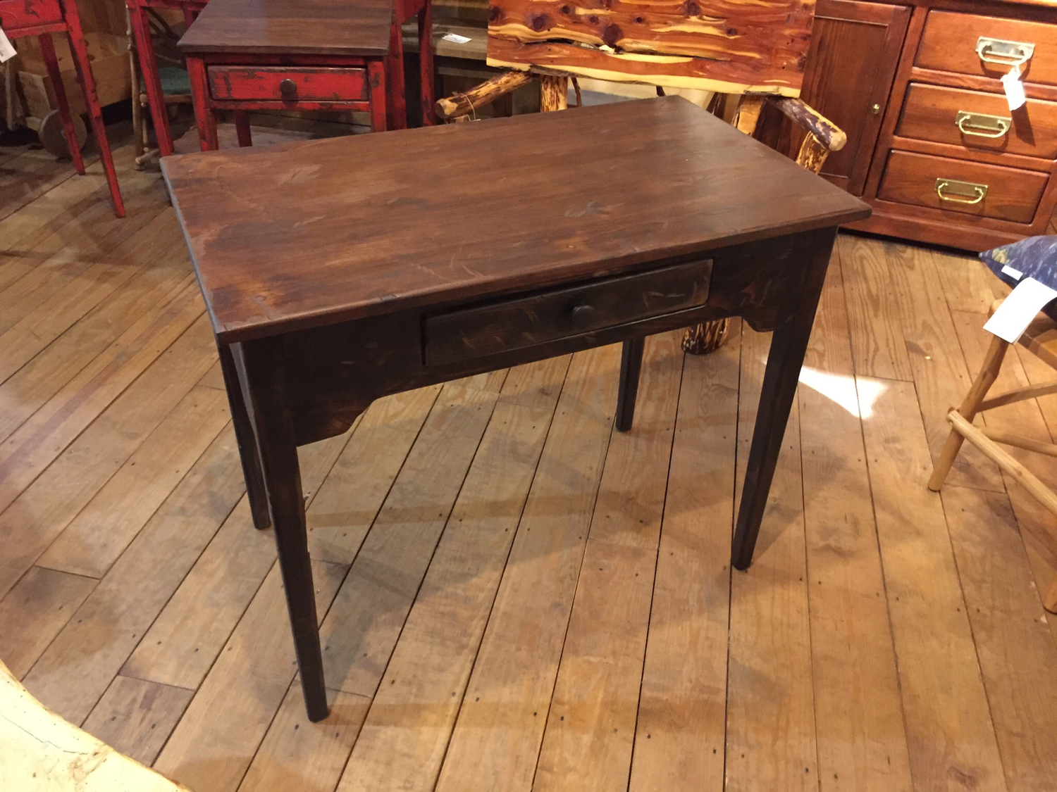 Writing Desk with One Drawer
