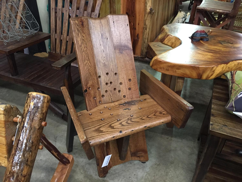 Oak Desk Chair