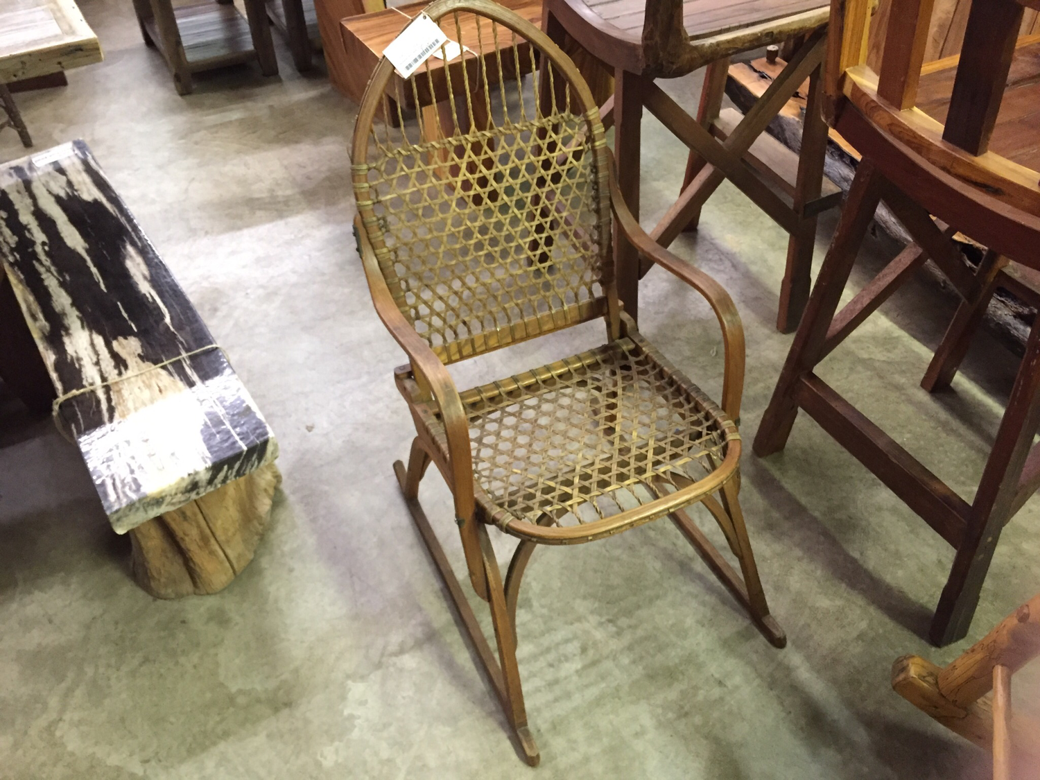 Snowshoe Chair made in the late 50s