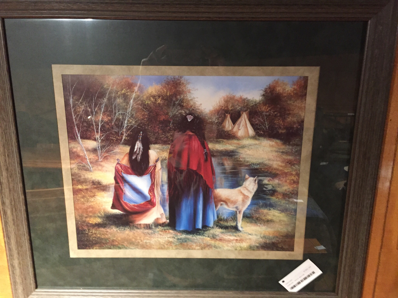 Pondering - Native American