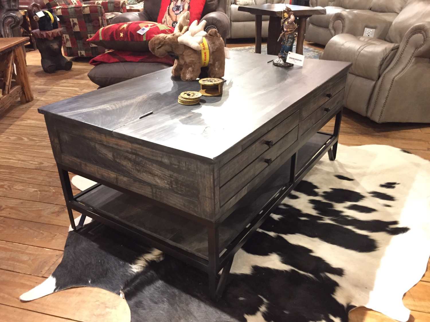 Cocktail Table with 2 Drawer and Storage