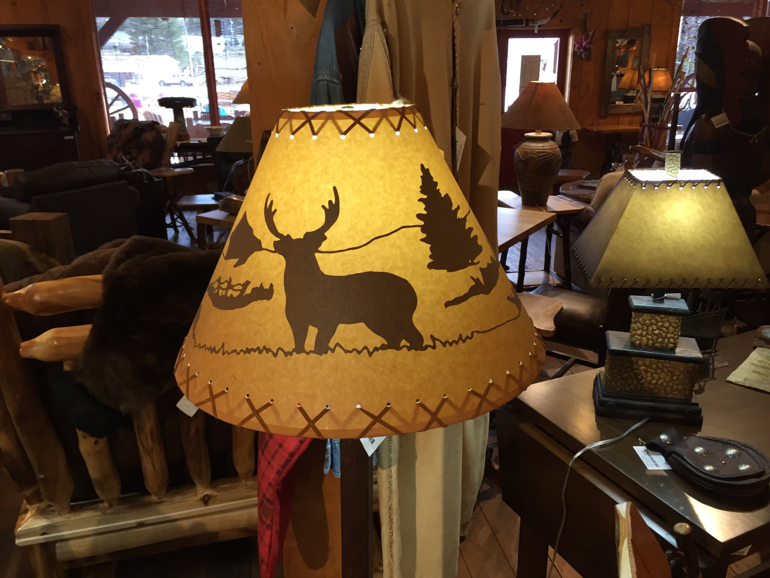 "18"" Deer Lamp Shade"