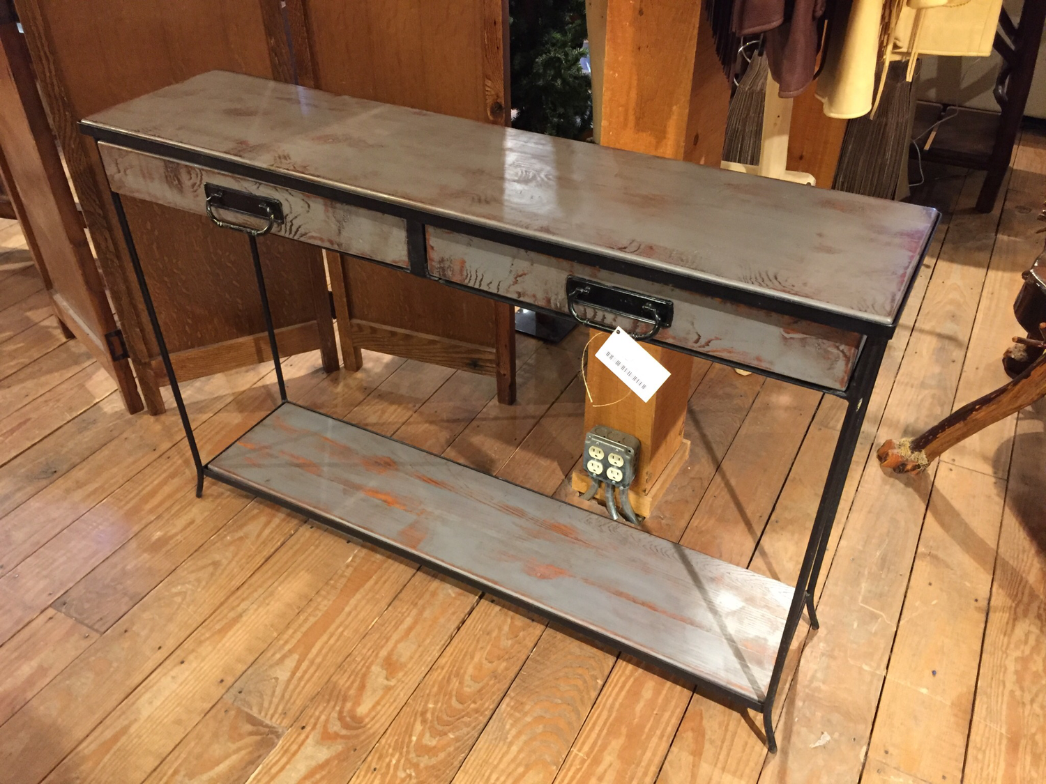 Sofa Table on Metal