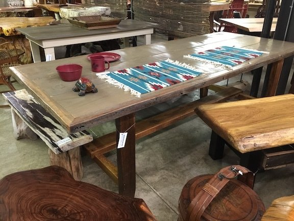 MY-FTABLE  Farm Table (one only available Dec.26 Pickup only