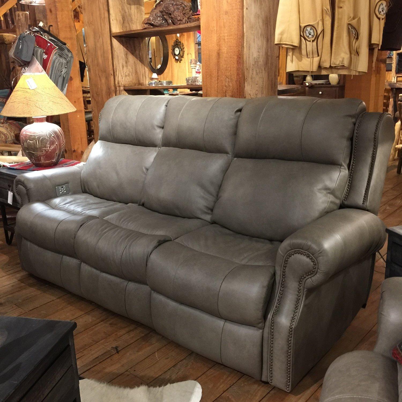 Power Reclining Sofa (Power Headrest/Lumbar/Footrest)