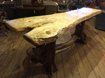 Maple Slab Table