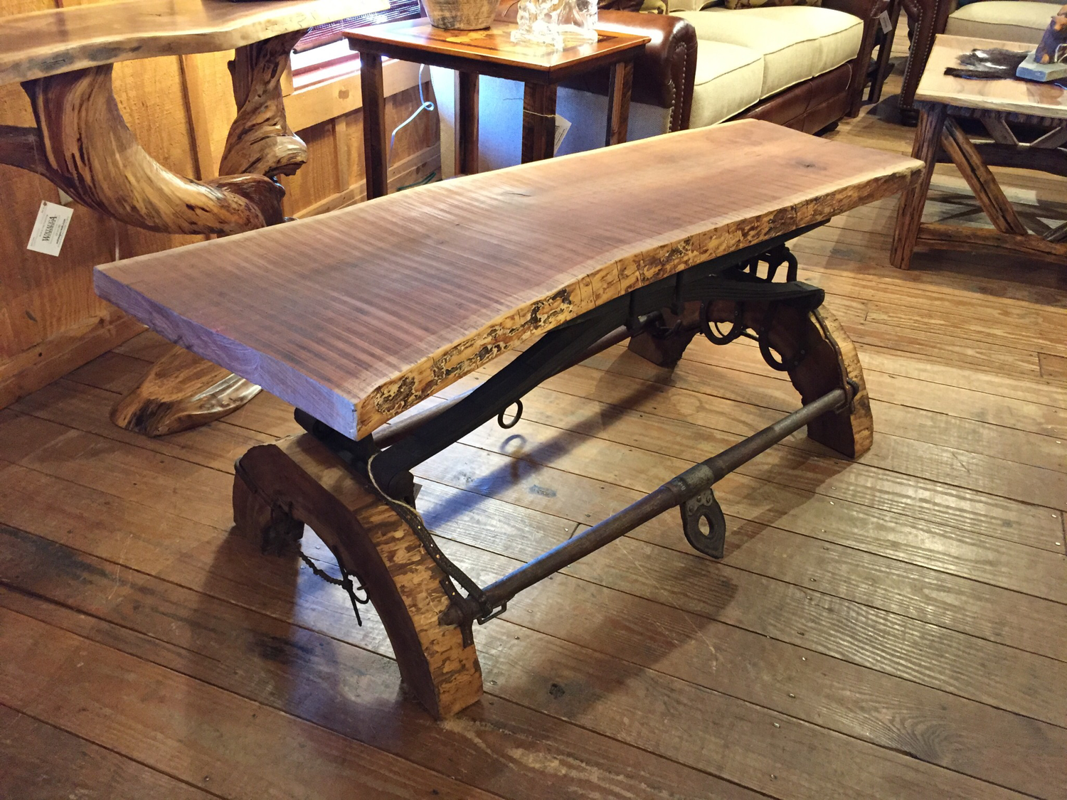 Coffee Table/Bench Wild Cherry