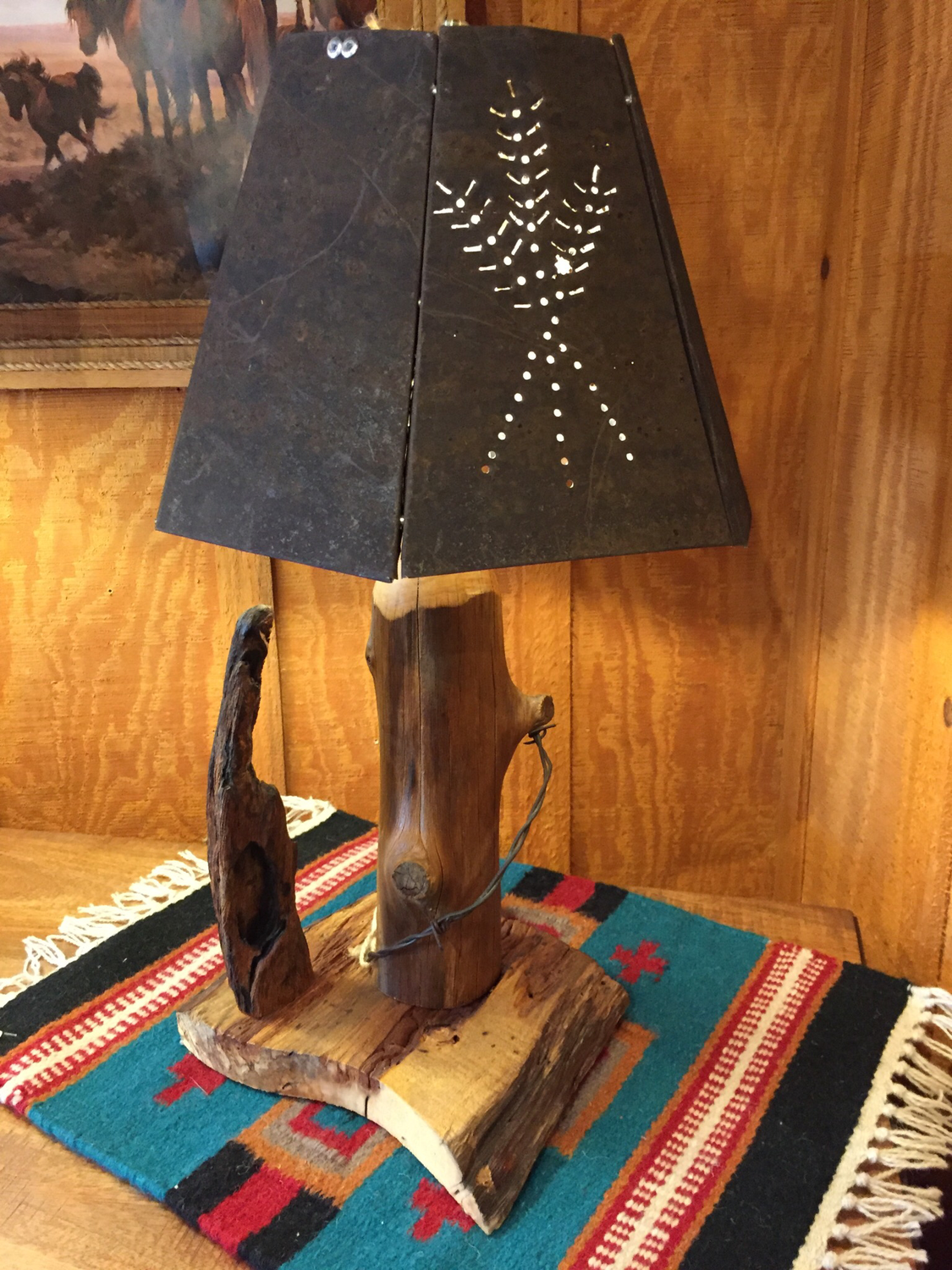 Handcrafted Table Lamp