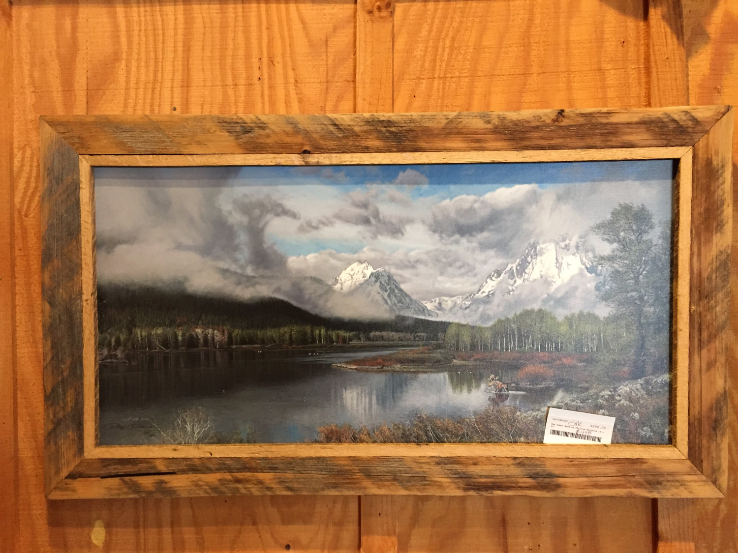 The Oxbow Bend by Phillip Philback