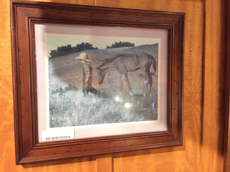 Art Boy with Horse