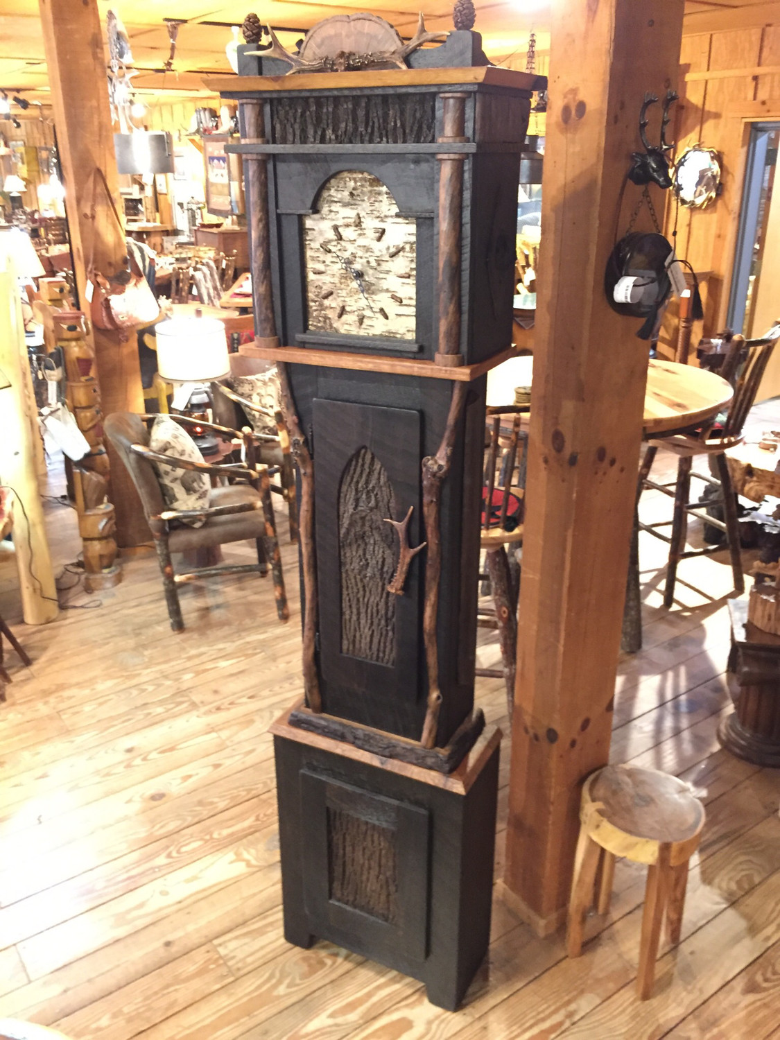 Locally Handcrafted Grandfather Clock