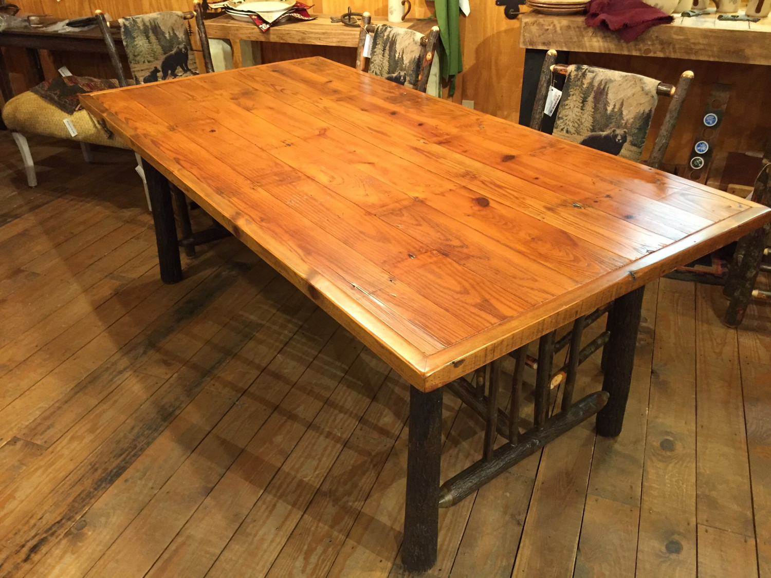 Old Yellowstone Original Spindle Dining Table