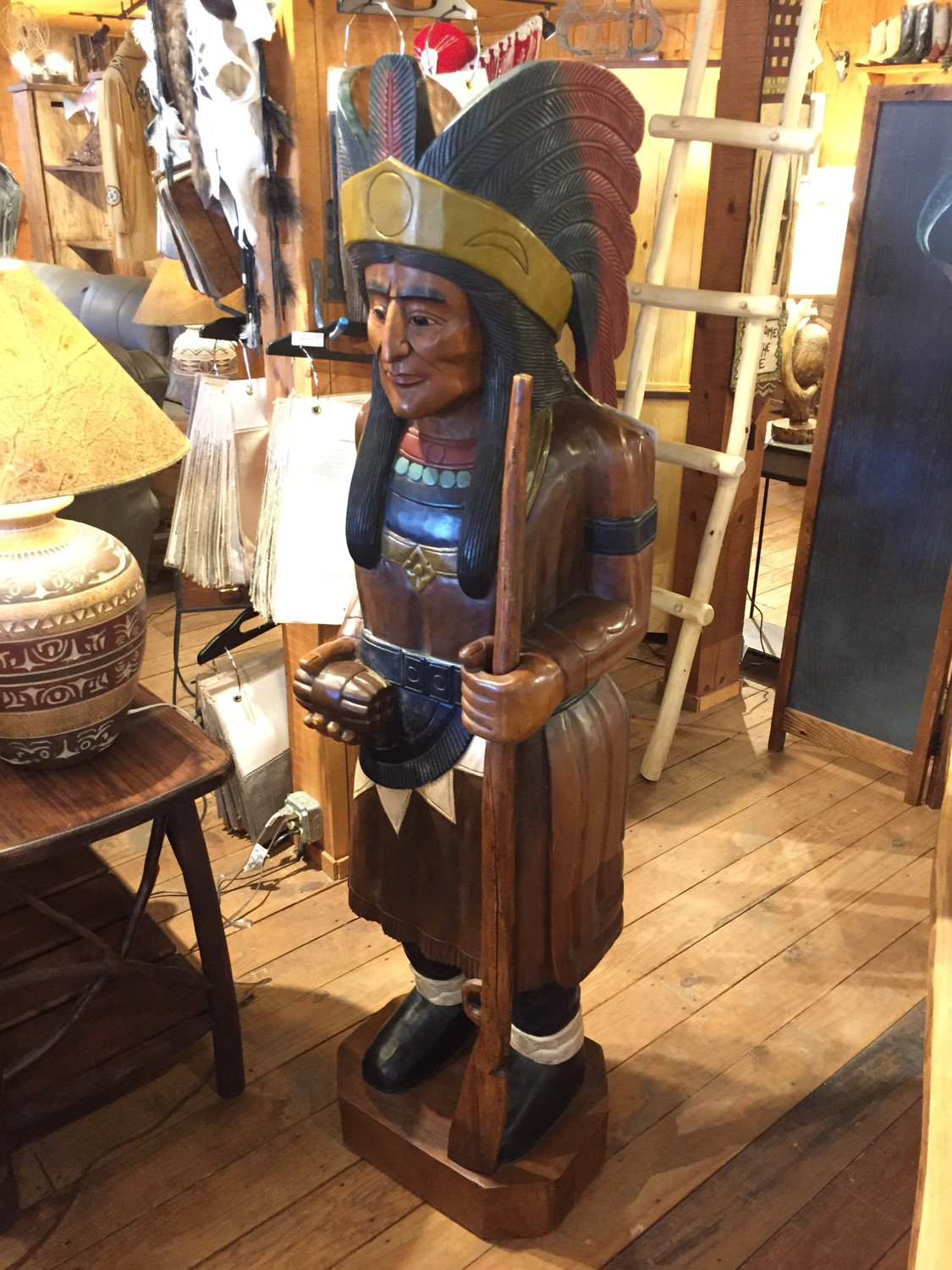 Large Cigar Indian