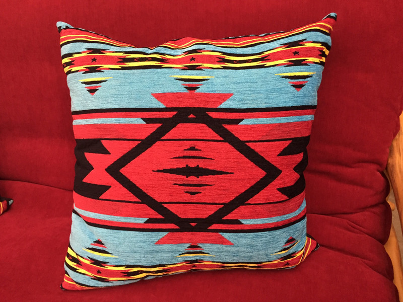 Flame Bright Pillow
