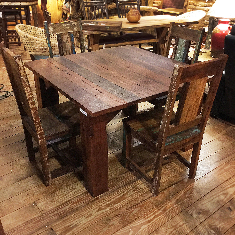 4' Teak Table- Square