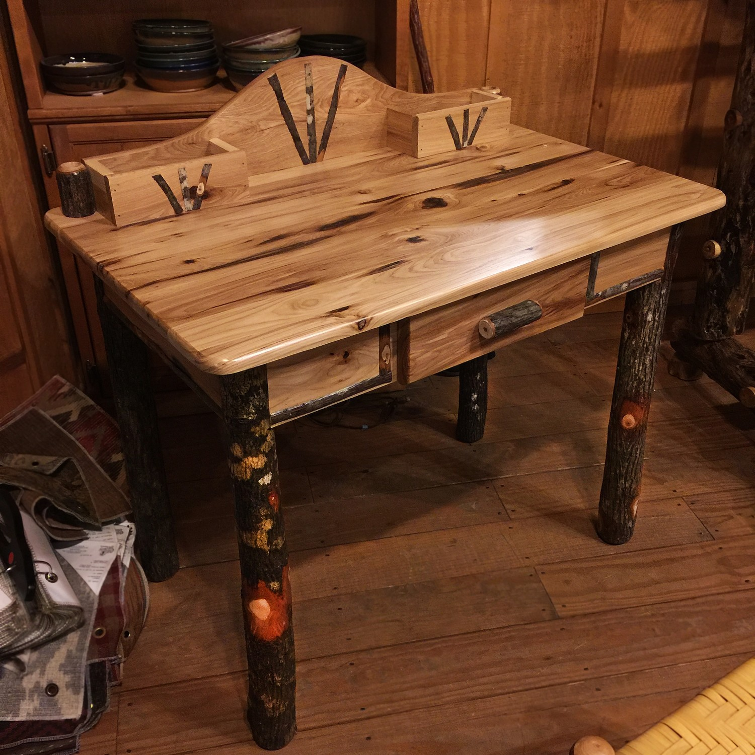 Hickory Writing Desk