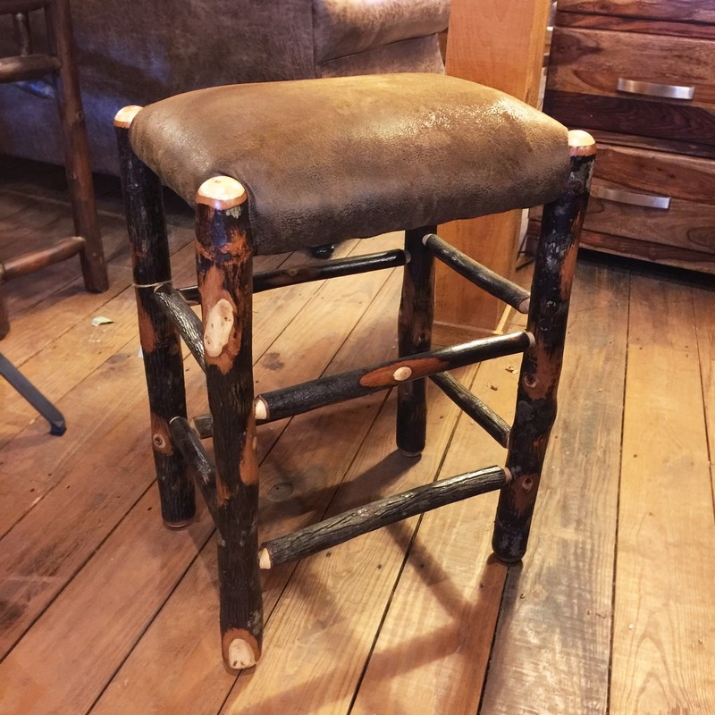 Hickory Counter Stool