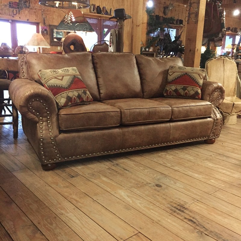Palance Chestnut Lodge Sofa- Brown BS