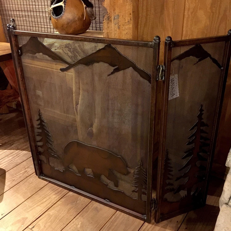 Fireplace Screen (Bear)
