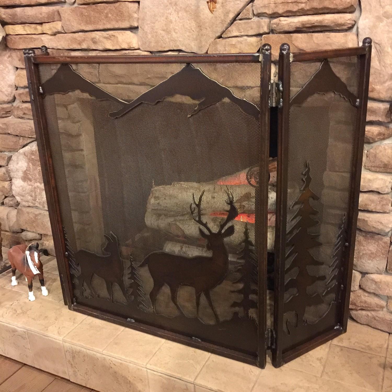 Fireplace Screen (Deer)
