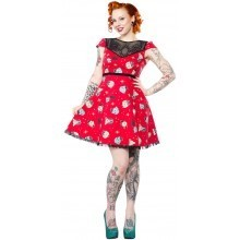 Sourpuss Holiday pup dress