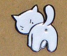 Bad Kitty Pin