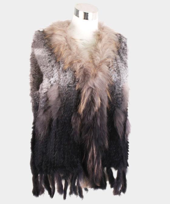 Real Fur Ombre Vest