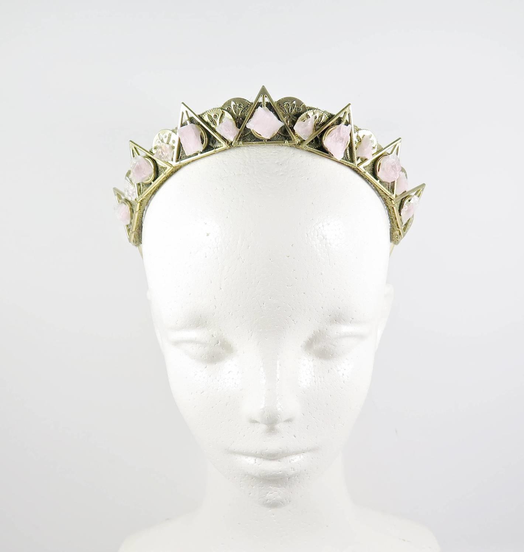 Illuminati Rose Quartz Crown