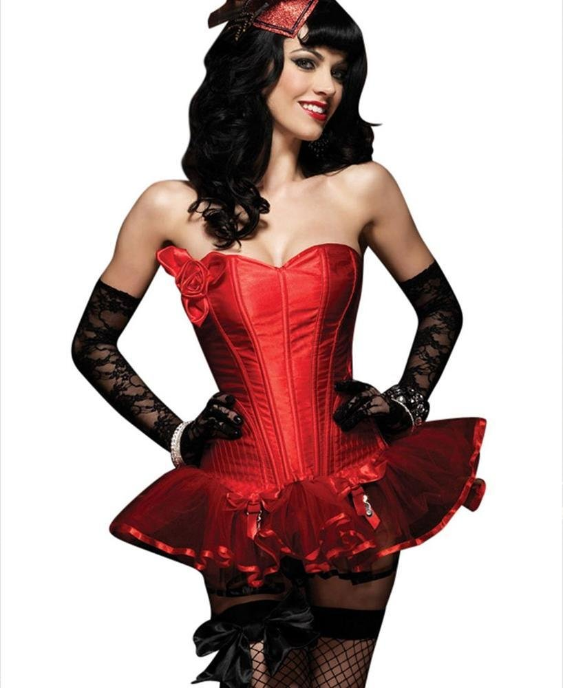 Red Paige Corset