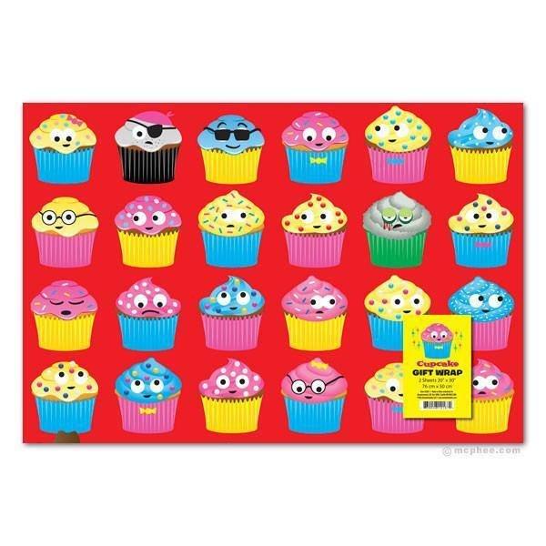 Cupcake Gift Wrap