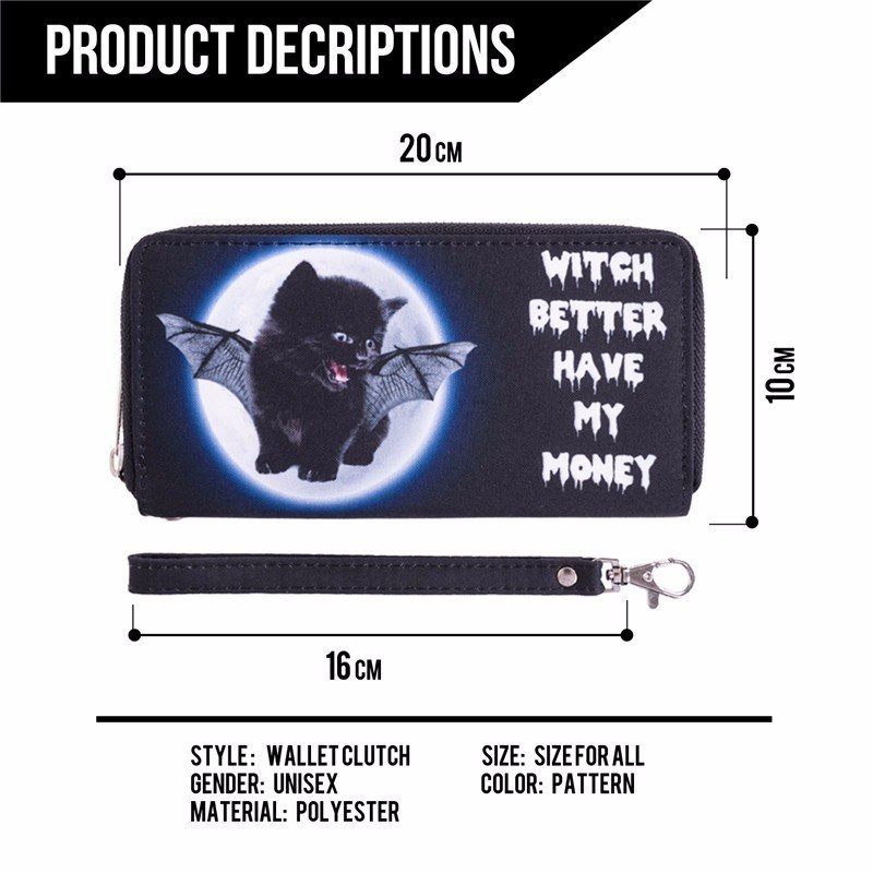 Cat Wallet, Witch Better Have My Money