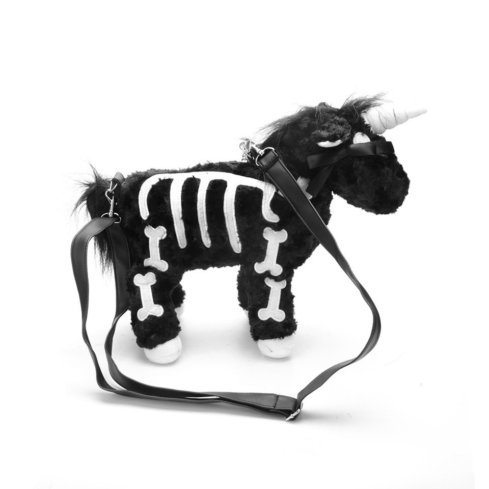 Bk Skeleton Unicorn Bag