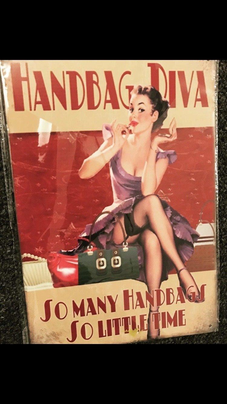 Handbag Diva Sign