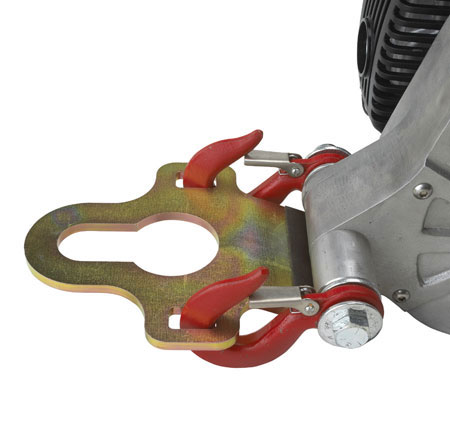 Hitch Plate Winch Anchor For Tow Ball 2""