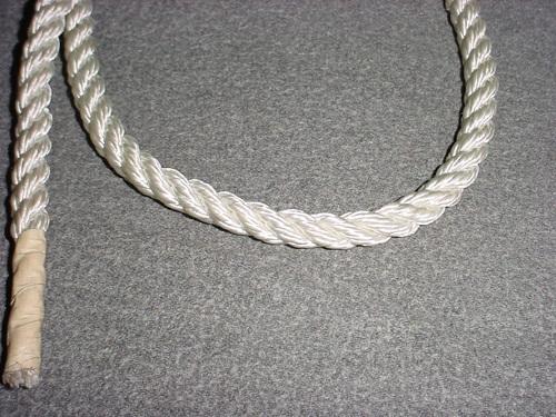 "Simpson Winch 3/8""x300' Braided Low Stretch Rope 5600 lb"