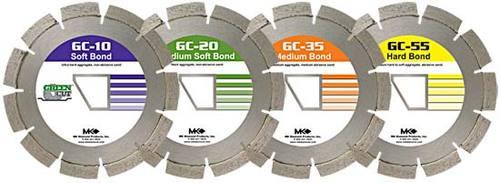 """MK-GC20 166733 Early Entry Concrete Blade 10 """" .250"""
