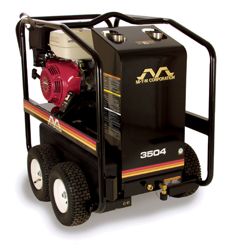 MiTM HSP-3003-3MGR 2.9 GPM Hot Water Pressure Washer