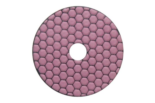 "Gluide Dry 4"" Diamond Polishing Pad 100 Grit"
