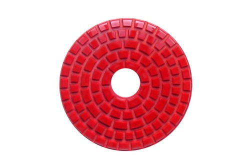 "DIAFLEX 3"" Wet Polishing Pad 220 Grit Red"