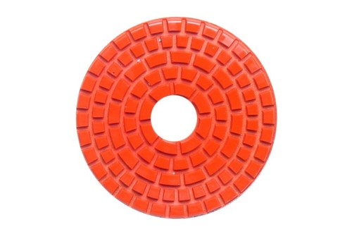 "DIAFLEX 3"" Wet Polishing Pad 600 Grit Orange"