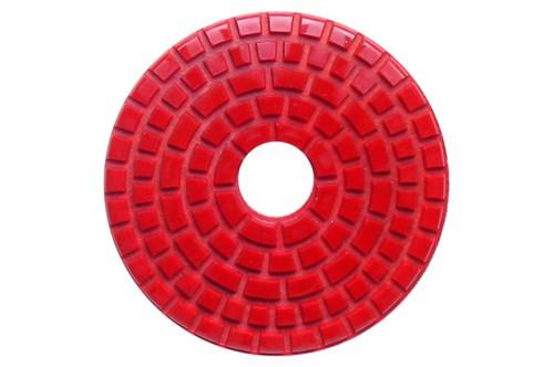 Debel Wet Polishing Pad 220 Grit Red