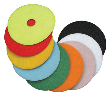 "Diteq 4"" Grit 100 Super Premium Wet Polishing Pad"