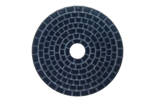 "DIAFLEX 4"" Wet Polishing Pad 120 Grit Black"