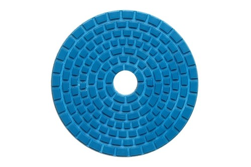"DIAFLEX 4"" Wet Polishing Pad 1800 Grit Blue"