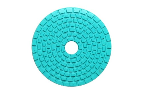 "DIAFLEX 4"" Wet Polishing Pad 30 Grit Lt Green"